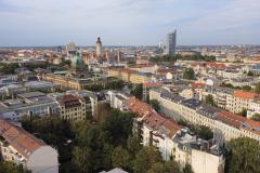 Blick auf die Leipziger Innenstadt