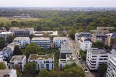 Blick auf den Clara-Zetkin-Park